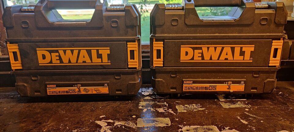 Værktøjskasser, Dewalt