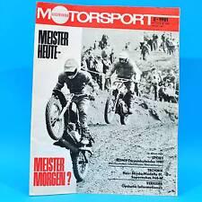 DDR Illustrierter Motorsport IMS 2/1981 Skoda Saporoshez SAS Oberhof Motoball