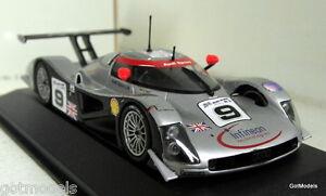 Minichamps échelle 1/43 Audi R8c Le Mans 24h 1999 N ° 9 miniature de voiture