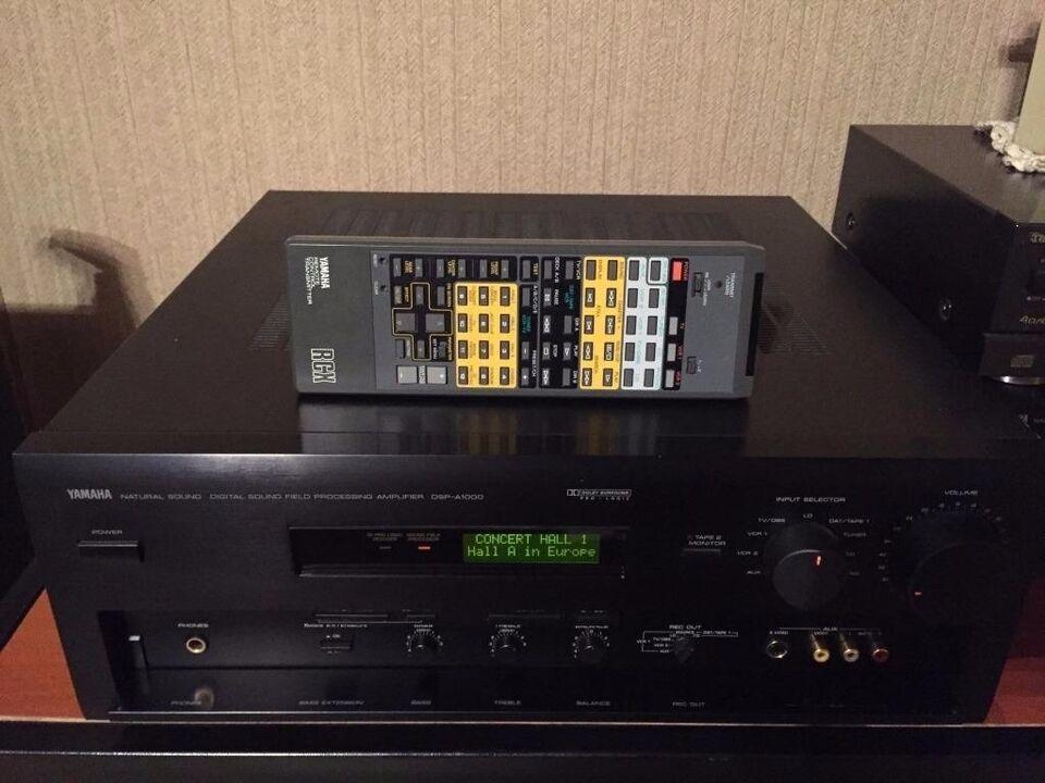 Forstærker, Yamaha, DSP-A1000