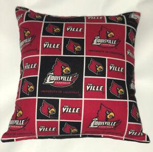 University-Of-Louisville-Pillow-The-Ville-HANDMADE-In-USA-NCAA-Pillow