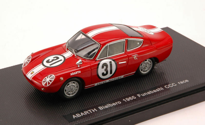 Abarth Bialbero 1965 Funabashi CCC Race 1 43 Model 44464 EBBRO
