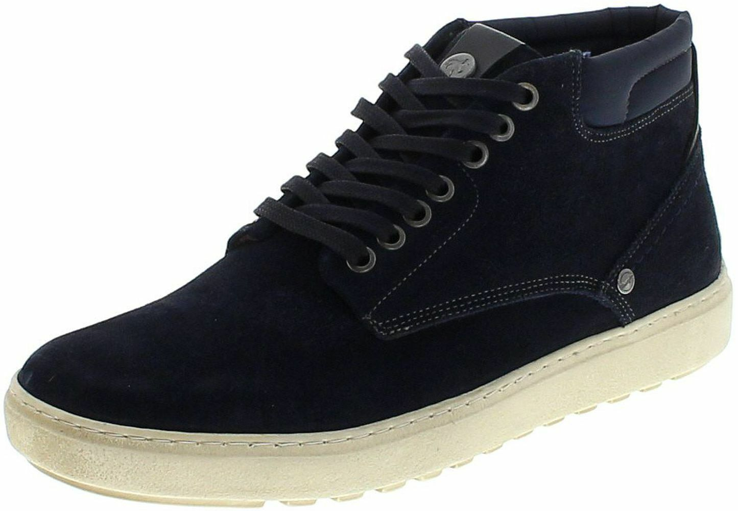 Wrangler HISTORIC CHUKKA SUEDE WM172022 Navy Herren Chukka Blau High Top Turnschuhe