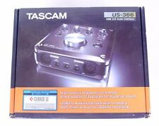 NEW OPEN BOX TASCAM US-366 USB 2.0 AUDIO INTERFACE W/ DSP MIXER