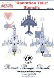 Model Alliance 1/72 Operation Telic Stencil # 72111