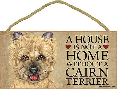 "Happy Howlidays Cairn Terrier Christmas Holiday Dog Sign NEW 5/""x10/"" Plaque 748"