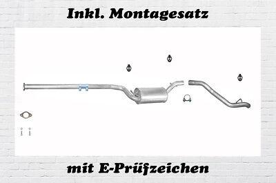Ford Focus 1.8 TDCi 101PS 74KW 116PS 85KW Kombi Endrohr Rohr Abgasrohr Auspuff