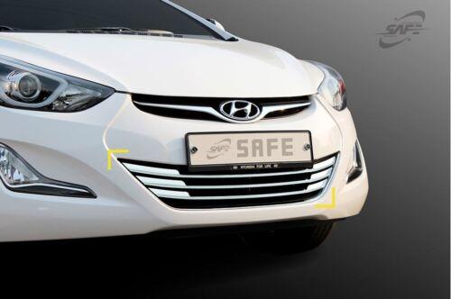 Front Grill Garnish Chrome Molding Trim K979 for Hyundai Elantra 2014-2016