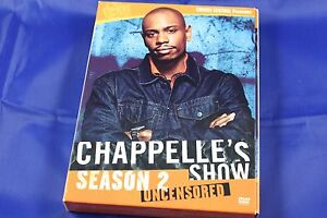 chappelle show dvd season 2 uncensored like new ebay ebay