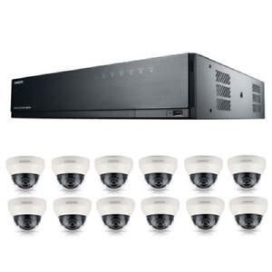 Site Officiel Samsung 16 Channel Poe Nvr 3 To 12 Kit Cctv Caméras Garantie 3 An Gratuit Cctv Signe-afficher Le Titre D'origine BéNéFique Au Sperme