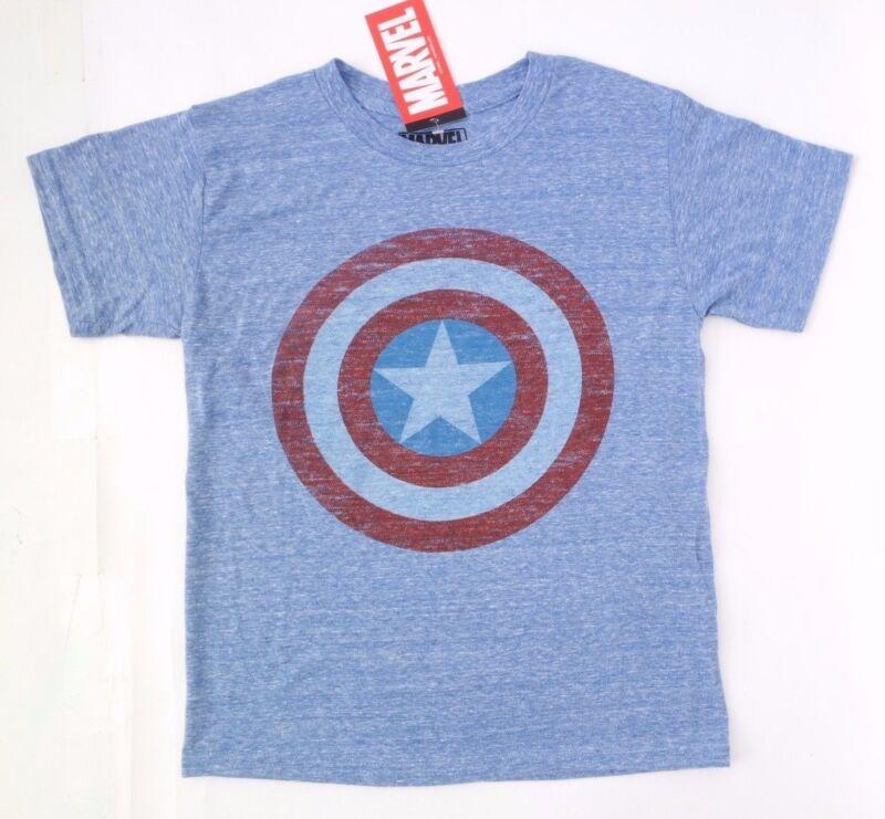 Marvel Captain America Boy's Vintage T-shirt Size Medium Nwt