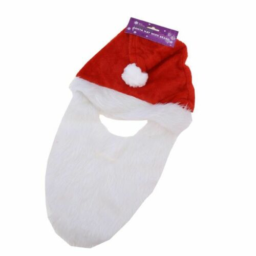 SANTA HAT WITH BEARD FATER BIRTHDAY ADULTS PARTY STAFF NIGHT OUT IDEA PROP