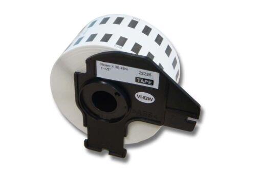 ENDLOS DRUCKER ETIKETTEN 38mm x 30.48m WASSERFEST für BROTHER P-touch QL-1060N