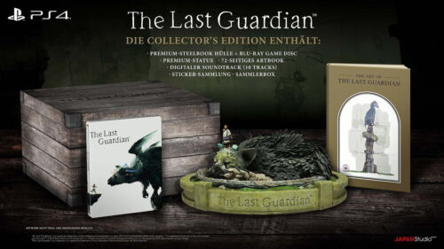 1 von 1 - PS4 The Last Guardian - Collector's Edition - Playstation 4 - NEU