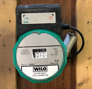 Wilo-TOP-S-SD-50-10-Single-Phase-Replacement-Head-Motor-amp-Terminal-Box-240V-USED