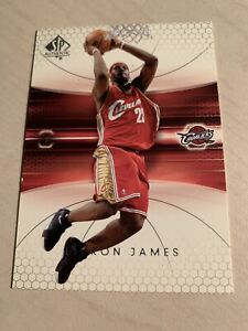😳2004-05 Upper Deck SP Authentic LeBron James #14 -2nd YR Lakers 4MVP/Titles😇