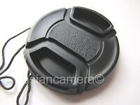 Front Lens Cap For Fuji Finepix Fujifilm S8200 S-8200 + Cap Keeper Snap-on Cover