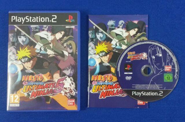 Naruto Shippuden Ultimate Ninja 5 Ps2 PAL (playstation 2)