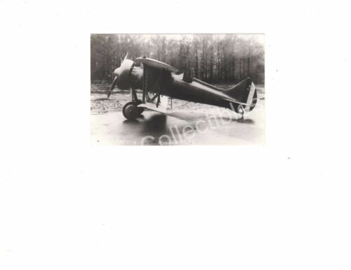 WWII Historical US Navy Aircraft USS Berliner joyce XFJ1 Official Photo 3.5x5.5