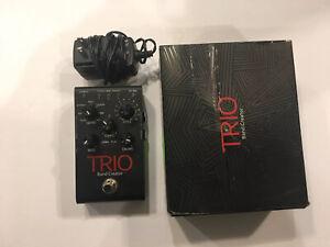 Digitech-Trio-V1-Bande-Creator-Batterie-Basse-Guitare-Effet-Pedale-Boite-amp-PSU