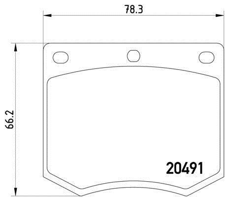 MGB633 M1166 MINTEX Brake Pad Set disc brake front