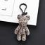 Cute-Teddy-Bear-Keyring-Rhinestones-Gloomy-Bear-Keyring-Handbag-Charm-3D-Pendant thumbnail 11
