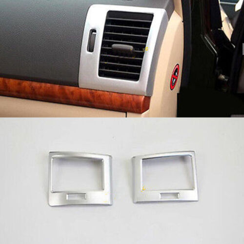 Interior Side Air Vent Outlet Cover Trim For Toyota Land Cruiser LC200 2008-16
