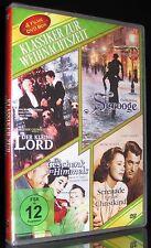 DVD KLASSIKER ZUR WEIHNACHTSZEIT - KLEINE LORD + SCROOGE + VATER DER BRAUT 2 NEU
