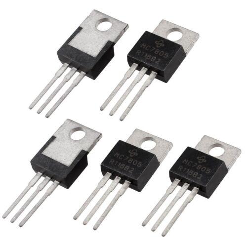 3X 5 Stueck 3 Terminals 1,5A 5V L7805CV Postiv-Spannungsregler  DE
