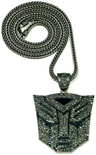 Robot Necklace New Iced Out 36 Inch Franco Style Chain Hip Hop