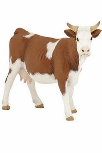 Papo Items SIMMENTAL COW Standing 51133 ~ FREE SHIP//USA w// $25.