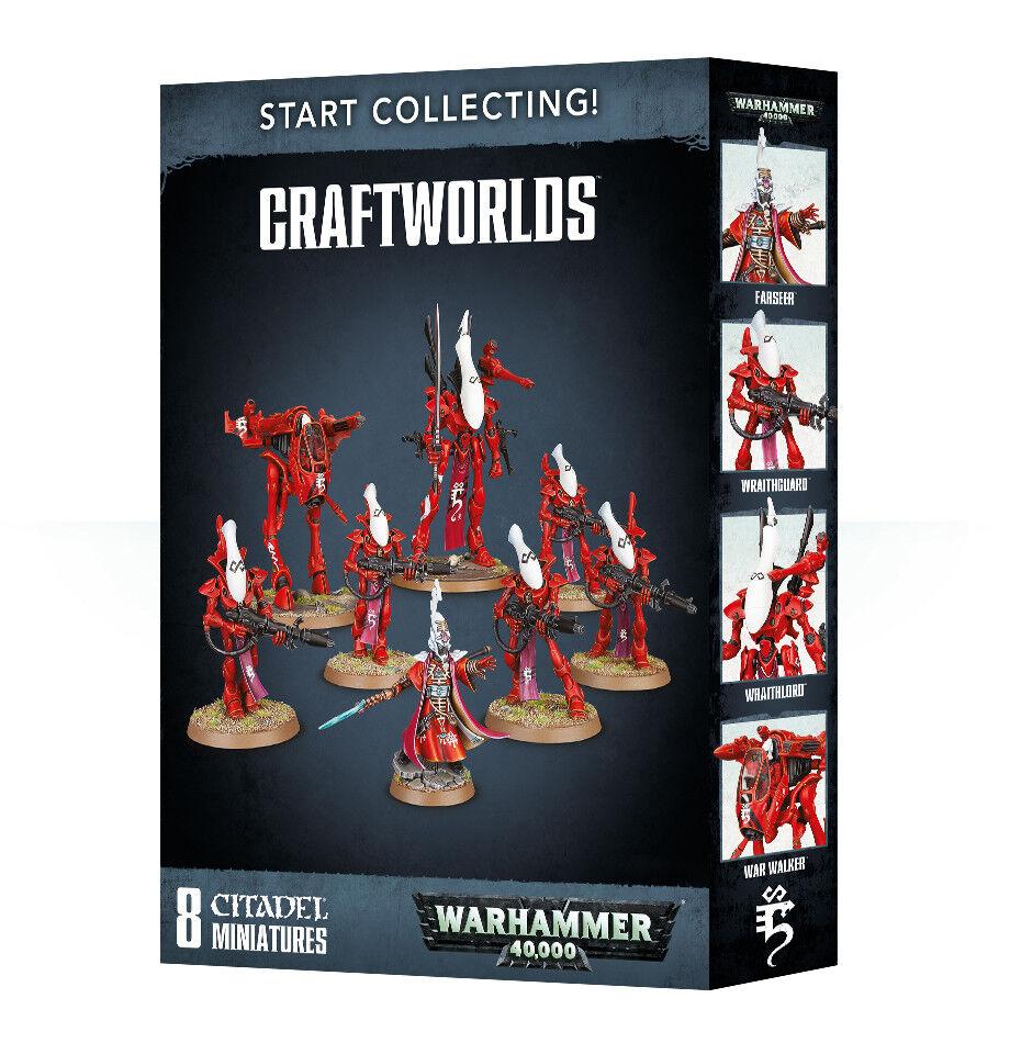 Empezar a recolectar craftworlds Eldar Warhammer 40k Nuevo