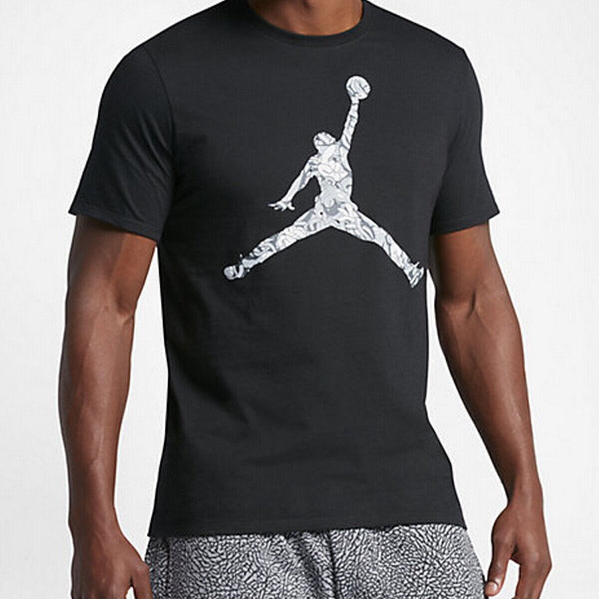 Jordan Jumpman Hands Down T-shirt Mens 801601 011 Größe M