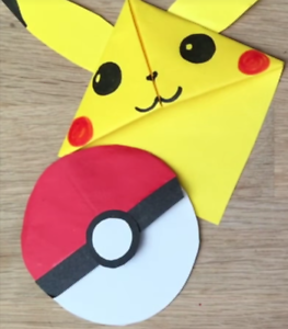 Image Is Loading Pokemon Go Bookmark Corner Origami