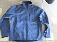 Kirkland Signature Softshell Jacket Mens L Water Resist Windproof Free Ship