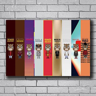 N-2873 Kanye West Yeezus Tour Grammy Rap Hip Hop Fabric POSTER 20x30 24x36