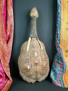 Old Native American Snapping Turtle Rattle  …beautiful collection and display pi