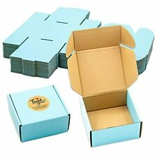 25pcs Special Size Small Colored Mailing Boxes Corrugated Cardboard For Holidays