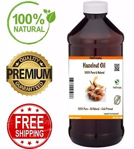 Hazelnut-Oil-100-Pure-amp-Natural-COLD-PRESSED-Organic-Carrier-Oil-Refined-Skin
