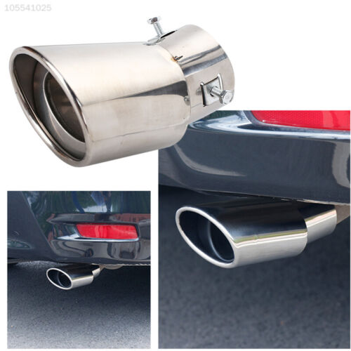 1835 Car Tail Pipe Diameter 63-86mm Exhaust Tail Noise Reduction Stainless Steel