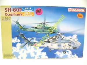 1-144-US-Navy-SH-60F-OCEANHAWK-Helicopter-Model-Kit-Dragon-4601