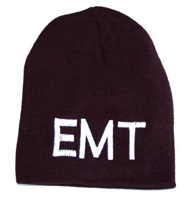 Emergency Medical Technician EMT Beanie- Black  7e5d833b2d2