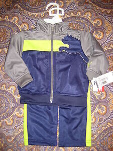 04b04bf66df8 PUMA Tricot Blue   Grey Boys 2 PC Track Suit with Full Front Zip 12 ...