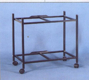 2-Tier-Rolling-Stand-For-Two-of-30-034-x-18-034-x-18-034-H-Size-Aviary-Bird-Flight-Cage