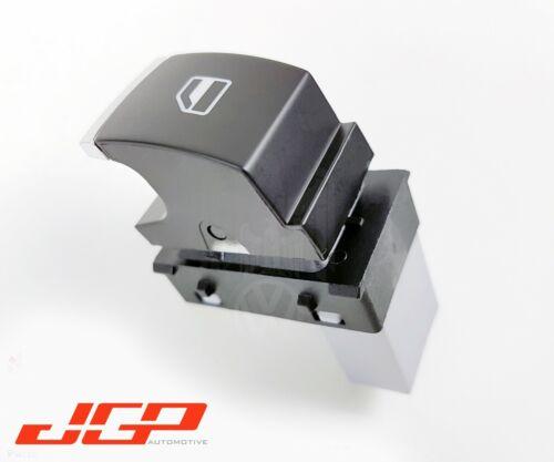 VW Caddy MK3 Eos CC Single Electric Door Window Switch Button Chrome 5K0959855