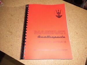 Atelier Manuel Maserati Qp v8 v8 Evo moteur K ALLEMAND FRANCAIS-uch MASERATI QP V8 V8 Evo Motor Moteur DEUTSCH FRANCAISafficher le titre d`origine IGrwIPIo-07135907-606339439