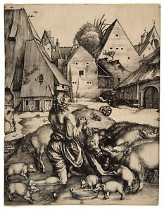 Albrecht Durer The Prodigal Son paper or canvas reproduction