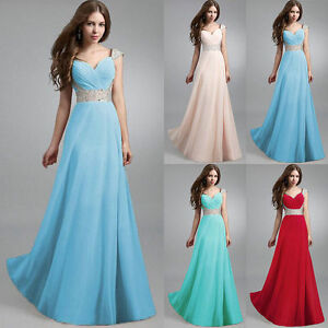 Long-Formal-Evening-Prom-Party-Bridesmaid-Dresses-Ball-Gown-Cocktail-SunDress