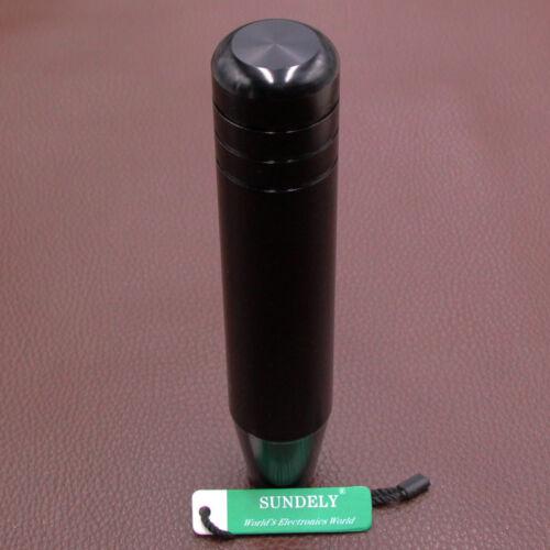 Universal Aluminum Manual Transmission Gear Knob Ball Shifter Black 180mm