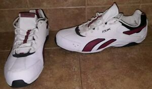 RBK-RB-605-Shoes-in-White-Maroon-Black-Size-12